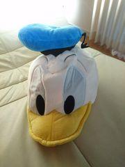 ディズニーランド ドナルドダック かぶりもの 帽子 なりきり帽子 人形