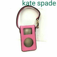 正規良品 Kate spade ケイトスペード iPod レザー ケース ピンク