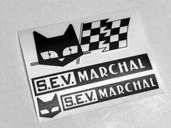 送料無料 マーシャル ステッカー 旧車 デコトラ 当時