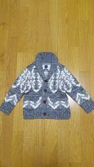 babyGap ウール入りセーター カーディガン 95 グレー
