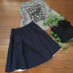 〇ZARA〇ゴムウエストのかっこかわいいフレアスカート*・゜美品