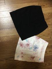 50スタ★超美品★リップサービス:タイトスカート 2点セット(7)