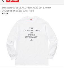 supreme18ss undercover counterattack L/S Tee 新品 Tシャツ M