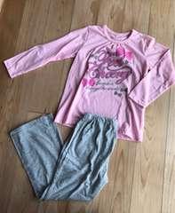 新品 キッズ パジャマ ルームウェア Tシャツ ピンク 110