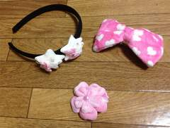 6%DOKI DOKI☆新品☆ヘアーアクセ3点Set