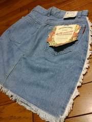 新品★『きりっぱ加工Gミニスカート』=w67=定価4900円