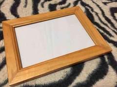 NEW*ガラス*2way木製フレーム写真たて*