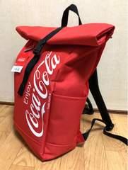 ■Coca-Cola/コカ・コ-ラ*ロゴリュック ver.11 (ロ-ルトップタイプ) *レッド■