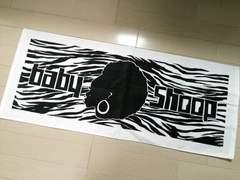 新品◆baby shoop◆シュープゼブラアフロフェイスタオル白黒