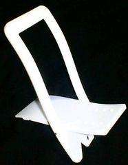 シンプル スタンド [PDA・ケータイ・PSP等に] ホワイト 普通郵便OK