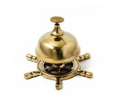 真鍮製 ゴールド テーブルベル マリン インテリア 事務用品