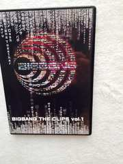 800円 BIGBANG THE CLIPS VOL.1 DVDビックバン