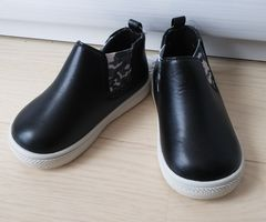 15cm★サイドゴアブーツ★ベビーブーツ★新品★ブラック