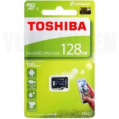 耐久性抜群 超速100MB/s 東芝 128GB microSDXC マイクロSD クラス10 UHS