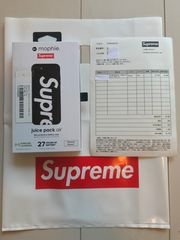Supreme×Mophie iphone8・7 Juice Pack Airシュプリーム