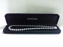 10291/PETITSOIR新品未使用品パールネックレス/プレゼント用に素敵なアクセサリー