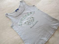 Burberryバーバリーブルーレーベル◆一度着美品◆ タンクトップ♪