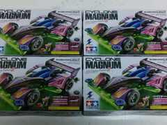 ●ミニ四駆 サイクロンマグナム 全4種 即決