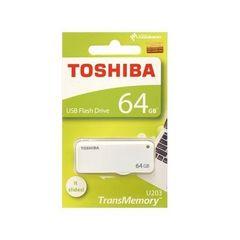 東芝 USBフラッシュメモリー 64GB スライド式 THN-U203W0640