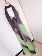 MARIA BONITA☆グラデーションカラーロングドレス1.5万キャバ嬢