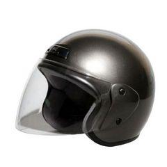 【新品】バイク用ヘルメット ジェット ガンメタ KC-350