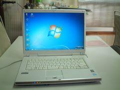 すぐ使える Windows7  DVDマルチ ワイド 無線 FMV-NF40U