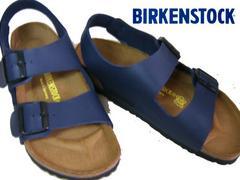 ビルケンシュトックBIRKENSTOCK新品MILANOミラノ034751ブルー43