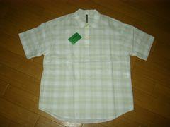 新品フラボアFRAPBOISポロシャツ2薄手チェックシャツ