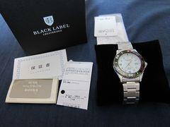 新品ブラックレーベルクレストブリッジ ソーラー式腕時計