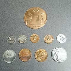 「東京オリンピック(1964)」<記念メダル>�B