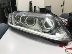 RB1 HIDヘッドライト COB4連イカリング