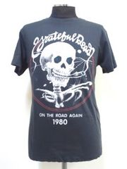 美品/タイトM!グレートフルデッド スカル  ロック Tシャツ 70'sスタイル ヒッピー 65
