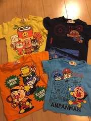 アンパンマン・Tシャツ4枚