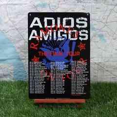 新品【ブリキ看板】Ramones/ラモーンズ Adios Amigos