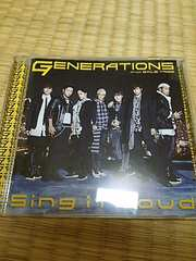 GENERATIONS SingitLoud CD