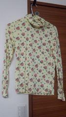 a.r.w花柄の長袖Tシャツ