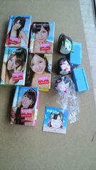 AKB48 ぷっちょミニ写真集 五冊 フィギュア3個