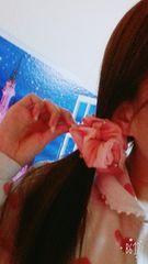 受付嬢必需品☆愛用の可愛いシュシュ(^з^)-☆