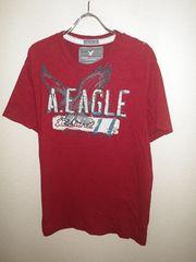 x243アメリカンイーグル★ワッペン付き半袖Tシャツ★アメカジ