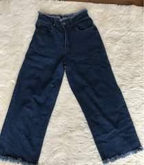merlot  デニムワイドパンツ Mサイズ