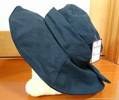 ♪新品タグ付き♪UV帽子♪サイズ、形調整可能♪ブラック