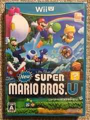 ニュースーパーマリオブラザーズU 新品未開封 WiiU