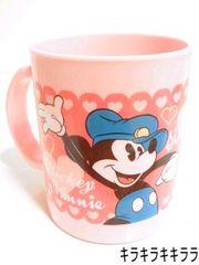お子様でも安心して使えるミッキーマウス&ミニーマウス★プラマグコップ