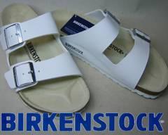 ビルケンシュトック新品 アリゾナARIZONA051733ホワイト39