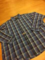 OAKTON LIMITED  チェック長袖シャツ  size3XL  used美品