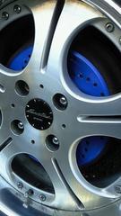 廉価版ローターディスクブレーキ風カラードラムブレーキカバー