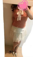 レース刺繍スカート M