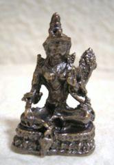 ☆即決☆銅製 ターラー菩薩 豆仏像