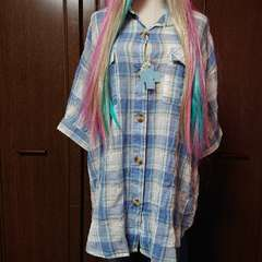 〜3L位迄/クロスツー新品☆薄手ビッグシャツ