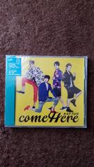 KAT-TUN☆come Here 通常盤☆未開封